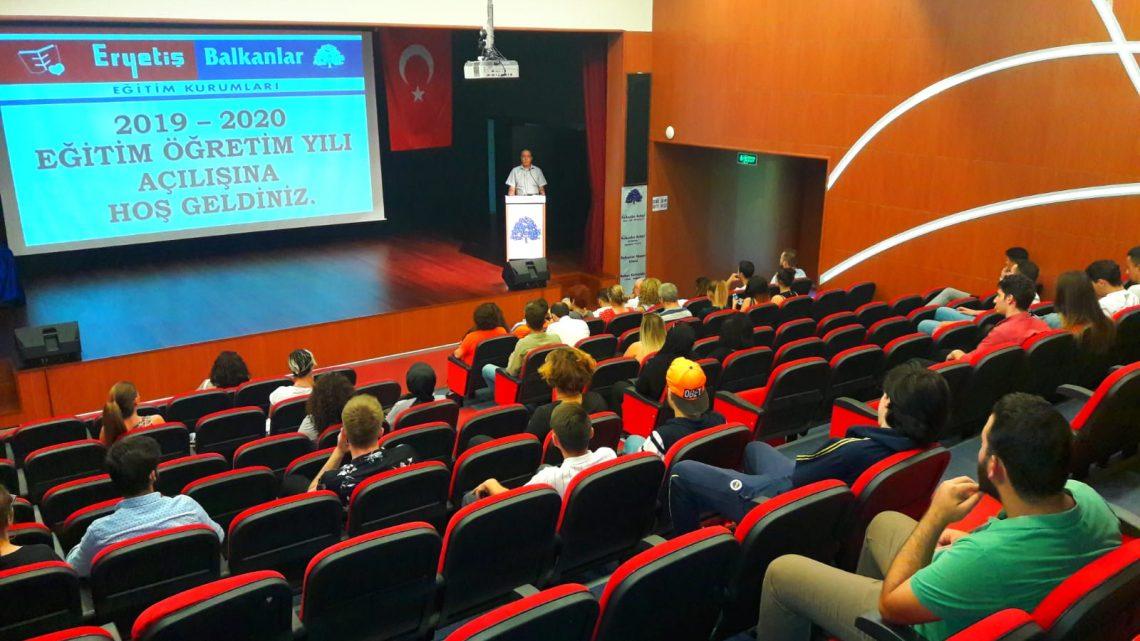 Balkanlar Akşam Lisesi 2019-2020 Eğitim Öğretim Yılına Büyük Bir Coşkuyla Başladı!